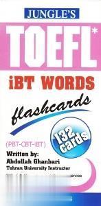 لغات اينترنتي تافل TOEFL iBT Words Flashcard 132 Cards