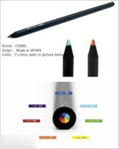 مداد بدنه مشكي با نوك 7 رنگ Camel BW-7