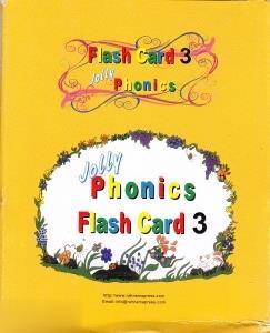 Jolly Phonics Flash Card 3