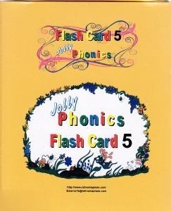 Jolly Phonics Flash Card 5