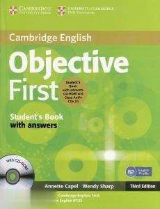 Cambridge English Objective First SB WB for Schools CD