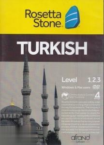 آموزش زبان تركي استانبولي Rosetta Stone Turkish Level 1-2-3 V4 Mac
