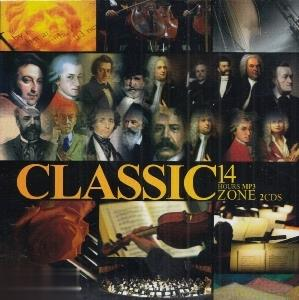 مجموعه 14 ساعت موسيقي كلاسيك (Classic 14 Hours MP3 Zone) (2CD)