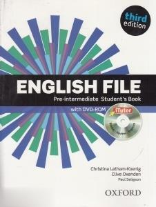 English File Pre Intermediate SB WB CD