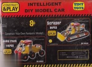 سازه فلزي 4 مدل Intellingent Diy Model Car
