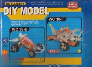 سازه فلزي 4 مدل Diy Model WC38