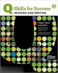 Q Skills For Success 3 Reading and Writing CD