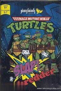 كارت بازي لاكپشتهاي اينجا Slap shredder Turtles