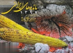 تقويم ديواري مائدههاي ايراني 1397 (عكسهاي مريم زندي)