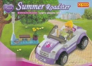 گردش تابستان Summer Roadster 85pcs XP96013