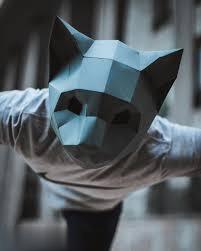 ماسك Oriland Cat Mask