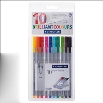 رواننويس نوك نمدي 10 رنگ STAEDTLER