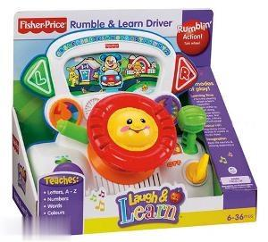 Fisher Price Rumble & Learn Driver P7631