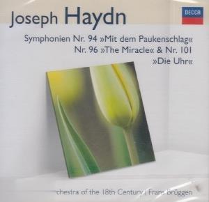 Joseph Haydn Symphonien 94 & 96 & 101