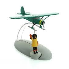 مدل هواپيما مقصد نيويورك (پروفسور نيلسن) TINTIN 29569