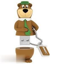 فلش مموری EMTEC HB104 Yogi Bear USB2 8GB