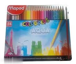 مدادآبرنگي 24 رنگ فلزي Maped 836016