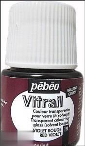 رنگ ويتراي Pebeo 050019 45ml Red Violet 19