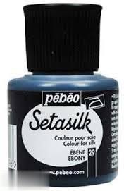 رنگ پارچه ابريشم Pebeo 181029 45ml Ebony 29