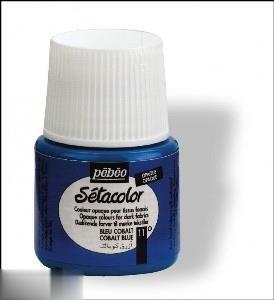 رنگ پارچه مات Pebeo 295011 45ml Cobalt Blue 11