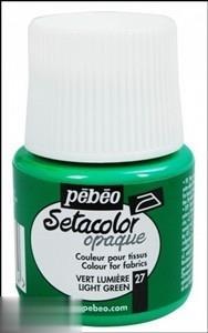 رنگ پارچه مات Pebeo 295027 45ml Light Green 27