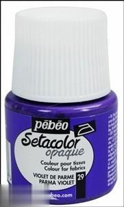 رنگ پارچه مات Pebeo 295029 45ml Parma Violet 29
