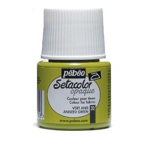 رنگ پارچه مات Pebeo 295032 45ml Aniseed Green 32
