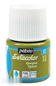 رنگ پارچه مات Pebeo 295083 45ml Olive 83