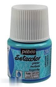 رنگ پارچه اكليلي Pebeo 329206 45ml Turquois 206