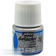 رنگ پارچه اكليلي Pebeo 329209 45ml Silver 209