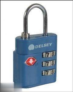 قفل رمزي آبي DELSEY 945210