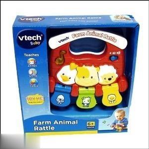 Farm Animal Rattle 118303