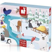 پازل Tactile Puzzle Life On The Ice 20PCS 02773