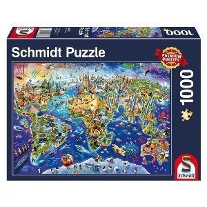 پازل Discover the World 1000pcs 58288