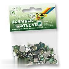 سنگ تزييني مربع و دايره سبز 550 عددي Folia 1272