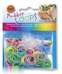 كيت ساخت دستبند 100 عددي رنگي Folia 339199