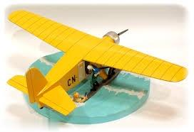 مدل هواپيما خرچنگ پنجه طلايي TINTIN 40027