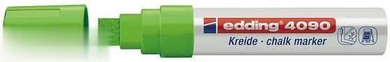ماژيك پوششي گچ شيشه سبز روشن edding 4090 4-15mm
