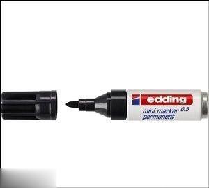 ماژيك ميني مشكي edding 51085 0.5mm 001