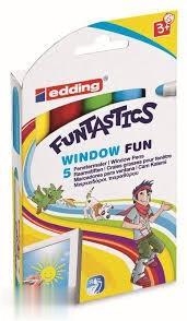 ماژيك 5 رنگ ضخيم edding 16.5 Funtastics