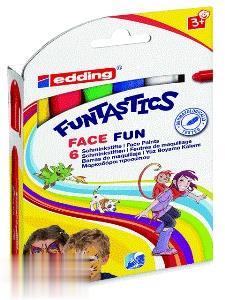 ماژيك 6 رنگ ضخيم edding 18.6 Funtastics