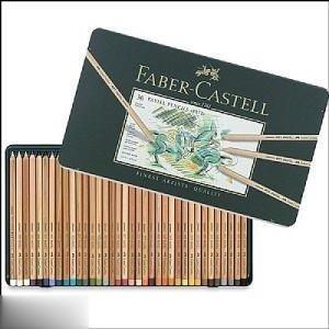 پاستل مدادي 36 رنگ فلزي FABER CASTELL 112136