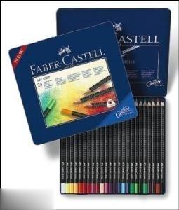 مدادرنگي 24 رنگ فلزي FABER CASTELL 114324 Art Grip