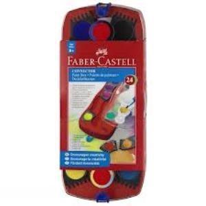 آبرنگ 24 رنگ پازلي FABER CASTELL 125029