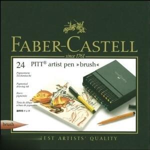 ماژيك پيت آرتيست 24 رنگ FABER CASTELL 167147 Brush B