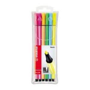ماژيك هايلايت 6 رنگ STABILO 6806-1 Pen 68 Fluorescent