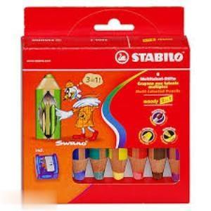 مدادرنگي 6 رنگ STABILI 8806-2