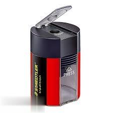 تراش تك سوراخ مخزندار قرمز STAEDTLER 511005 Tradition