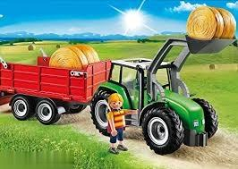 Tractor with Trailer 6130