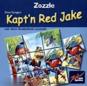 Zozzle Kaptn Red Jake 378